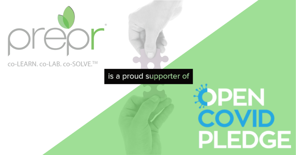 Prepr Announces Support for Open Covid Pledge