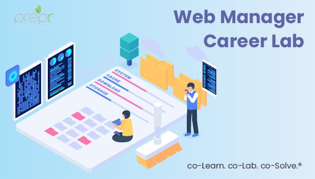 Digital Capability - web manager career lab